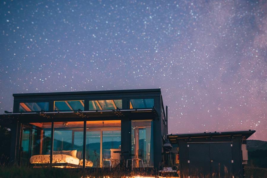 Greystone PurePod starry night