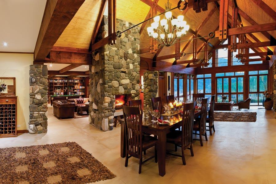 Stonefly Lodge interior